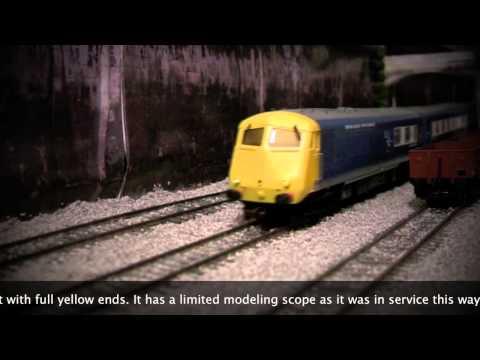 Blue Pullman 6-car Midland Model Railway OO Gauge Set