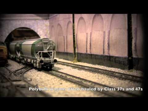 80ft Polybulk Bulk grain covered bogie hopper wagons