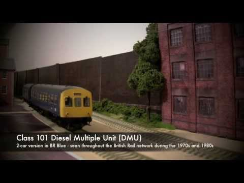 Review - Bachmann Class 101 DMU in BR Blue Livery