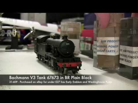 Model Railway Weathering Project - V3 Tank