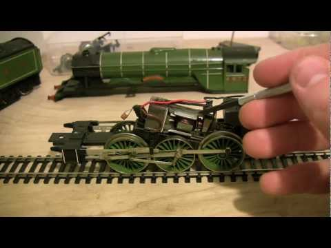 OO gauge Flying Scotsman (4472) Restoration Project Tri-ang / Hornby R.855N