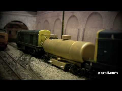 CMX Track Cleaner on OO scale Model Railways