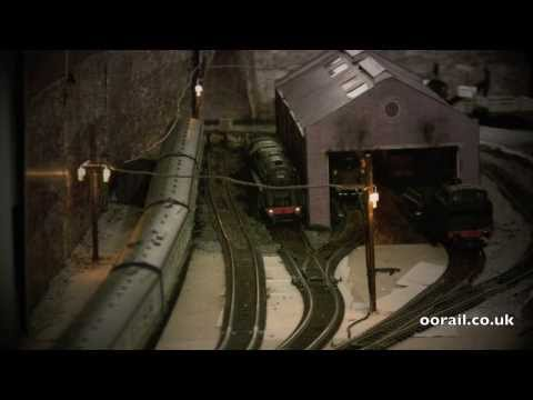 Scratch building yard lights for OO Gauge Model Railways