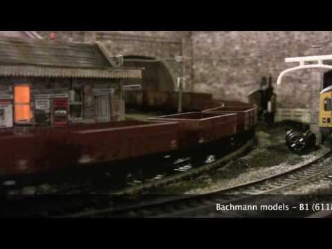 1940s Steam Freight - OO Gauge Model Railway