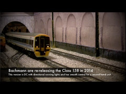 158791 Class 158 DMU in Regional Railways livery