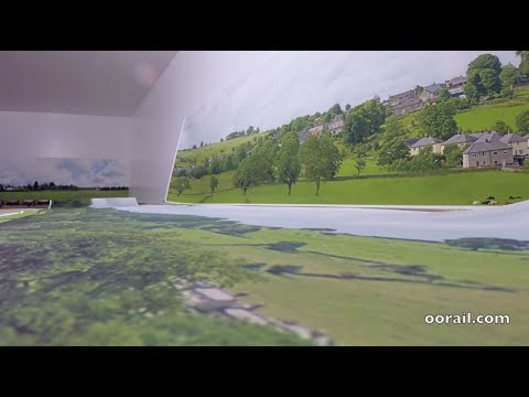 Model Railway Backscenes Part 2 - Old English Village with Hills and Dales