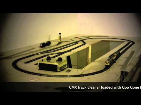 Restoring Tri-ang Track with the CMX HO scale Track Cleaner