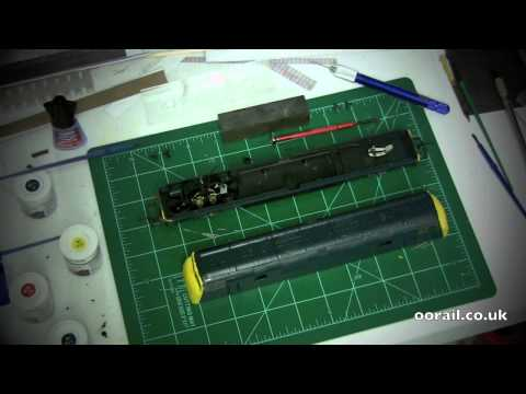 Lima Class 42 Warship Model Railway Project - Part 2