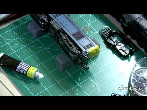 Loco Detailing and Minor Repairs