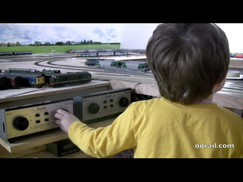 Introducing Kids to Model Railways