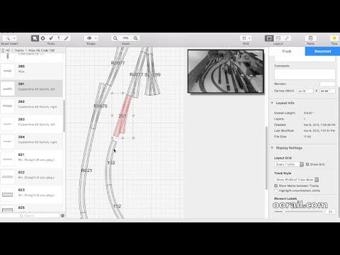 Creating a Model Railway Track Plan with RailModeller Pro