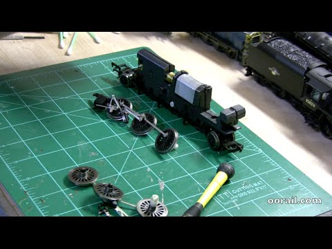 How to Quarter a steam loco