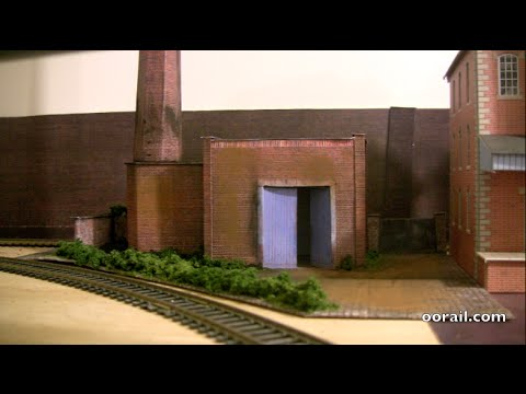 Brewery boiler house diorama for OO Scale Model Railway
