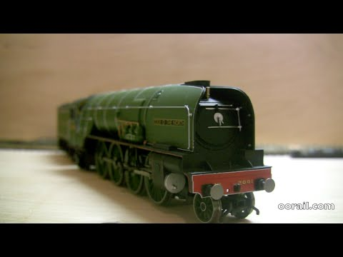 Hornby P2 Smokebox Handle Repair