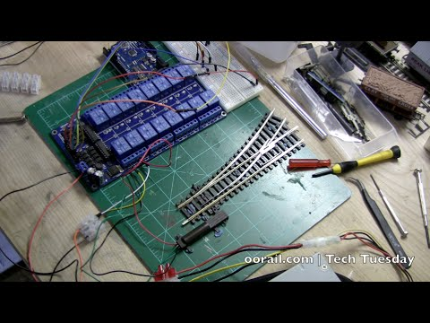 Arduino Controlled Point Motors