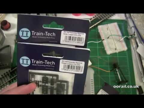 Introduction to Model Railway Signaling with Train-Tech DC Colour Light Signals