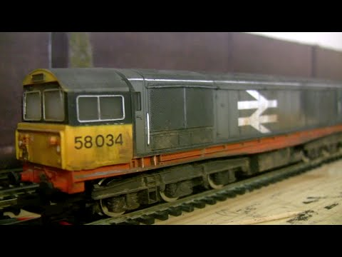 Hornby Class 58 Project - Part 2 (Weathering)