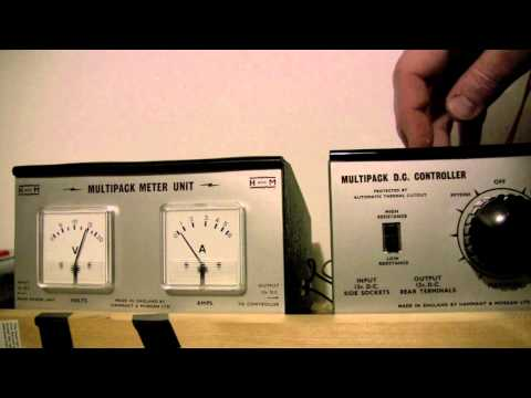 H&M Model Railway Controller and Power Meter Setup