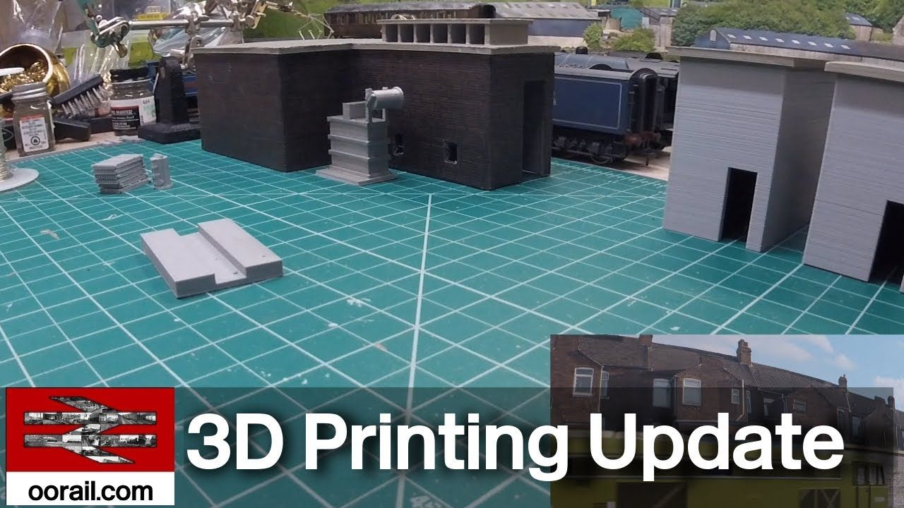 Model Railway 3D Printing Project Update - January 29th 2019