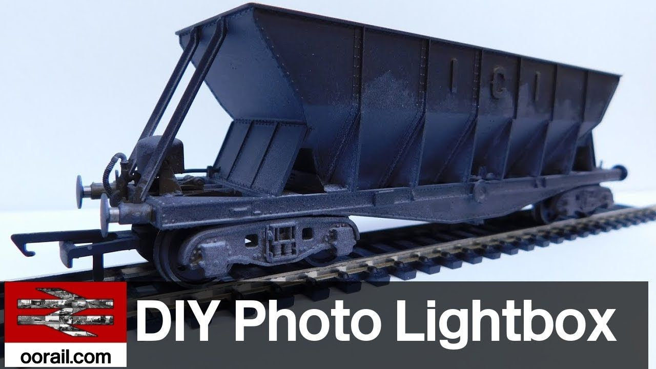 Sharing Your Model Railway Episode 1 - DIY Photo Lightbox