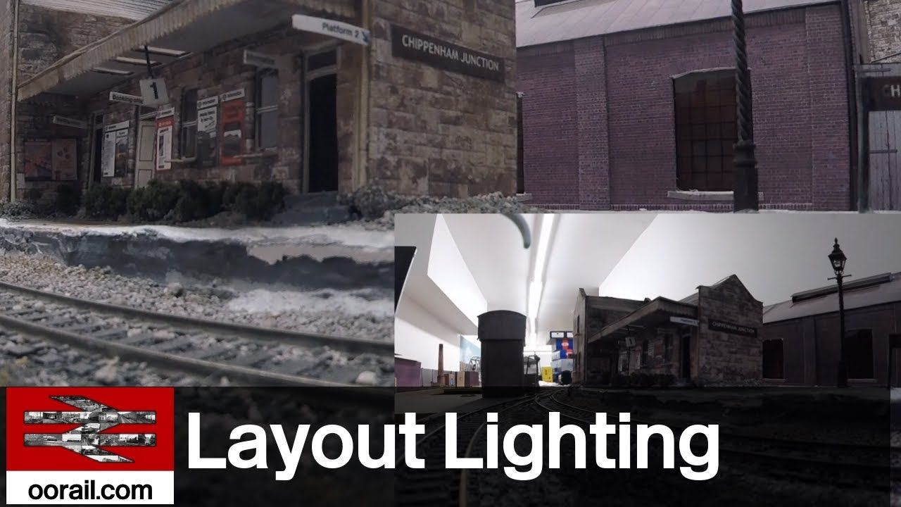 Sharing Your Model Railway Episode 2 - Layout Lighting