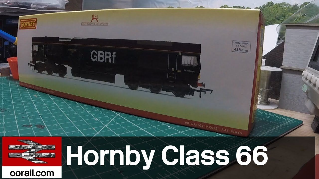 Hornby Class 66 Evening Star in GBRf Livery