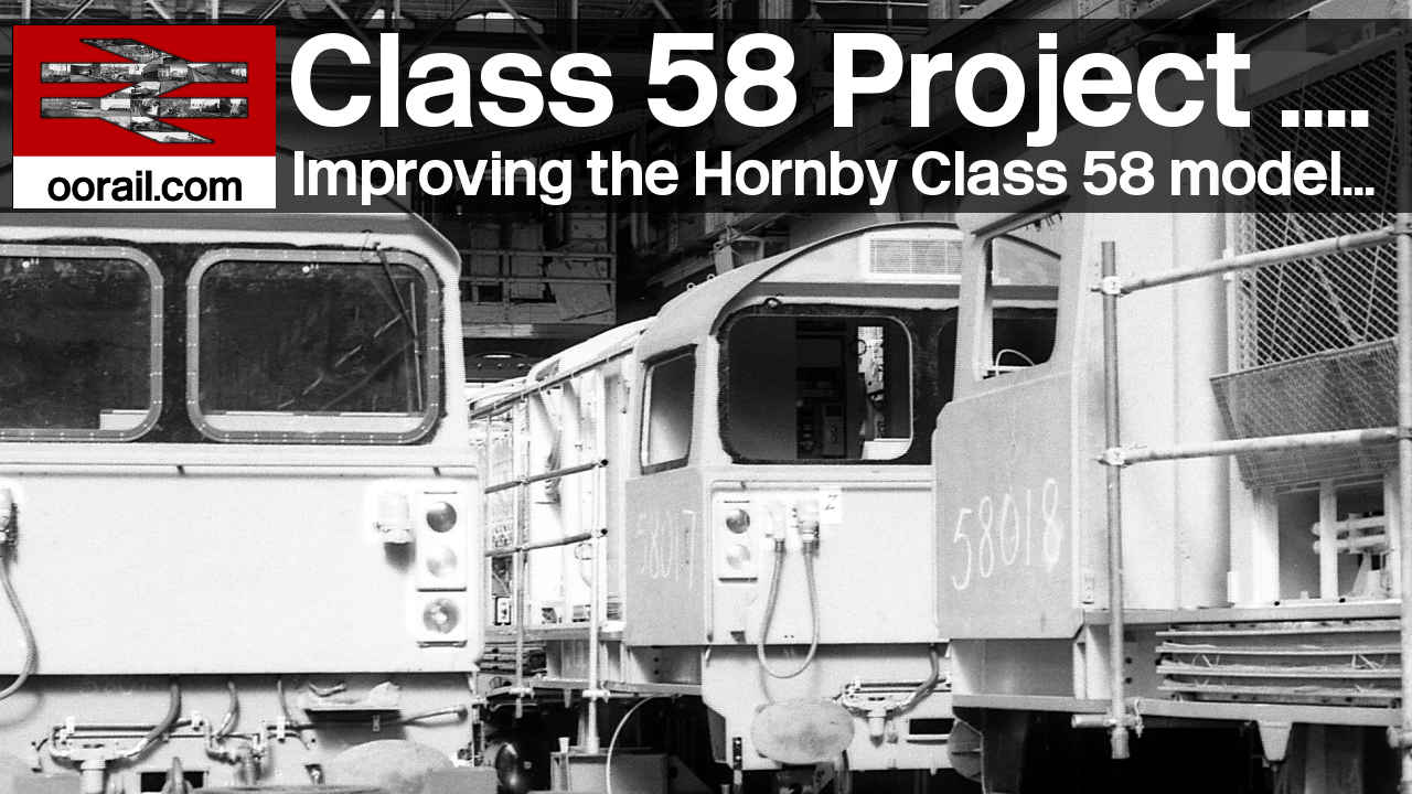 Hornby Class 58 Project