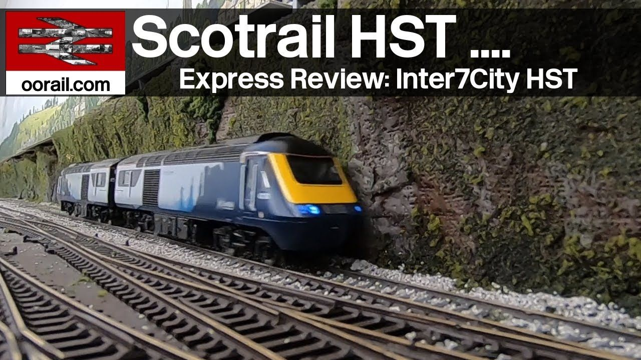 Scotrail HST - Express Review