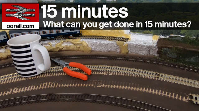 15 Minutes of Railway Modeling