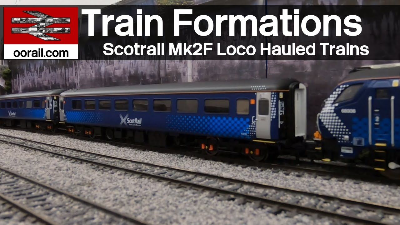 Scotrail Mk2F Train Formations